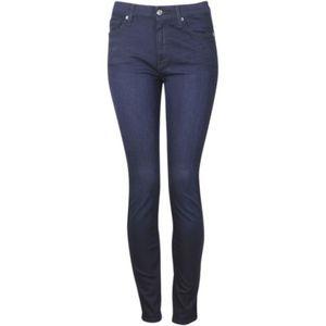 7 For all Mankind Dark Blue B(air) high waist Jean